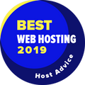 Awarded to companies in the top 10 for the best web hosting category.